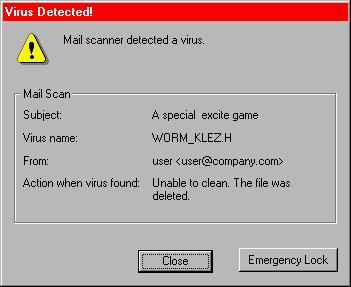 virus klez pcc 12 Most Devastating PC Viruses and Worms of All Time (So Far)