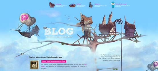 The Pixel Blog 46 Creative Header Designs For Inspiration