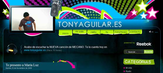 Tony Aguilar 46 Creative Header Designs For Inspiration