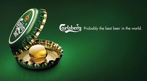 carlsberg 21 Creative And Beautiful Advertisements
