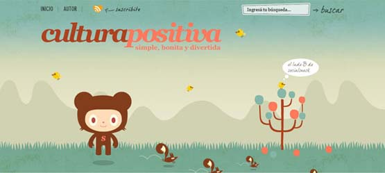cultura positiva 46 Creative Header Designs For Inspiration