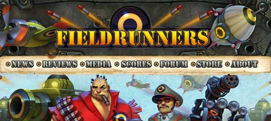 fieldrunners 46 Creative Header Designs For Inspiration