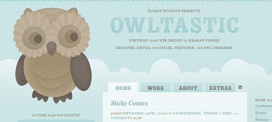 owltastic 46 Creative Header Designs For Inspiration