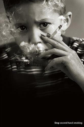 stop second hand smoking1 21 Creative And Beautiful Advertisements