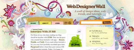 webdesignerwall 46 Creative Header Designs For Inspiration