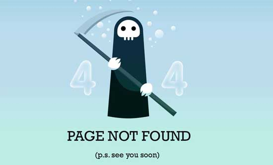 chrisjennings404 99 Creative 404 Error Pages