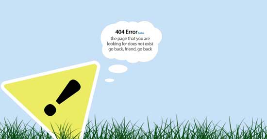 jackfig404 99 Creative 404 Error Pages