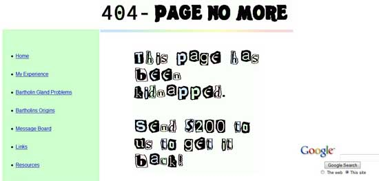 ntlworld404 99 Creative 404 Error Pages