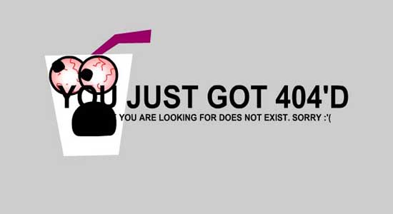 tinsanity404 99 Creative 404 Error Pages
