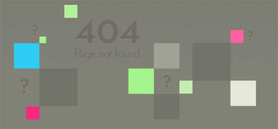 veerle404 99 Creative 404 Error Pages