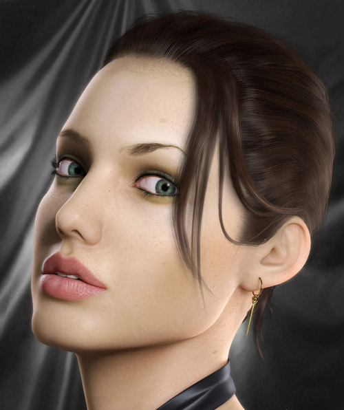CG portraits 60 Another 30 Realistic Digital Art Portraits