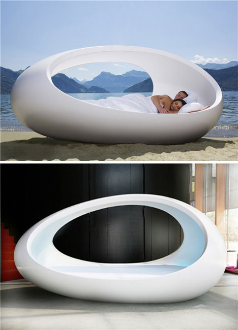 bed egg Extraordinary and Unusual Bed Designs Ideas