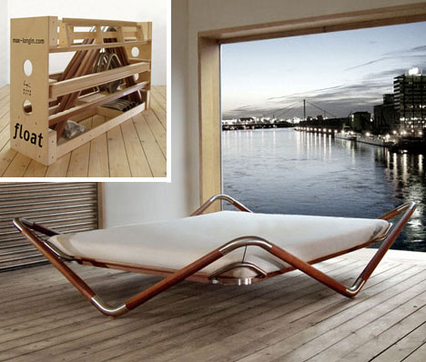bed float Extraordinary and Unusual Bed Designs Ideas