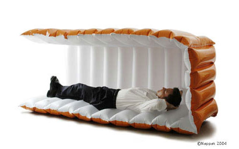 bed sleeping bag Extraordinary and Unusual Bed Designs Ideas