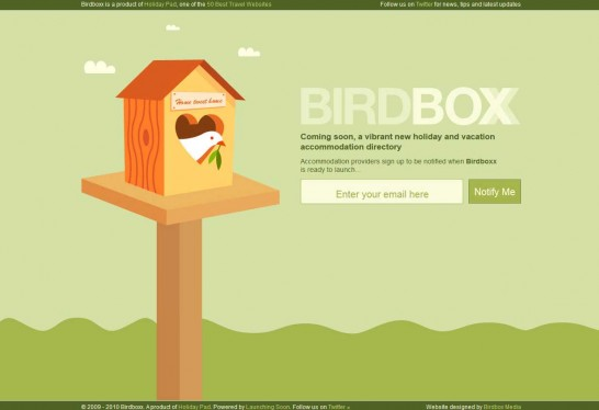 birdboxx 546x374 36 Cartoon Style Website Design for Inspirations