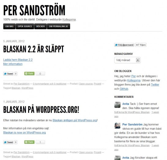 blaskan responsive 546x524 22 Free WordPress Themes with Responsive Layout