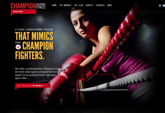 champion boxing 546x374 Weekly Inspiration and Web Design Resource no.1