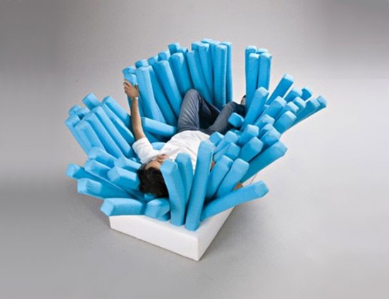 creative beds sofa brush 546x420 Extraordinary and Unusual Bed Designs Ideas