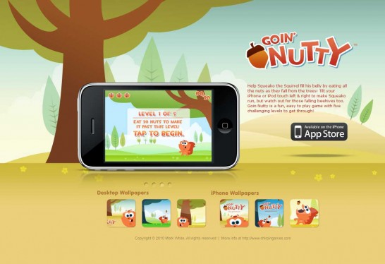 goin nutty 546x374 Another 30 Cartoon Style Website Design for Inspirations 
