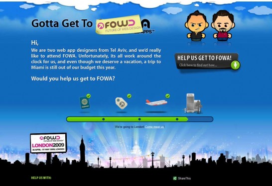 gottagettofowa 546x374 Another 30 Cartoon Style Website Design for Inspirations 
