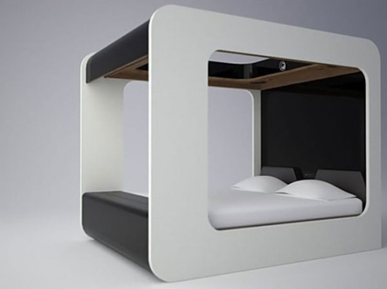 high fidelity canopy 546x407 Extraordinary and Unusual Bed Designs Ideas