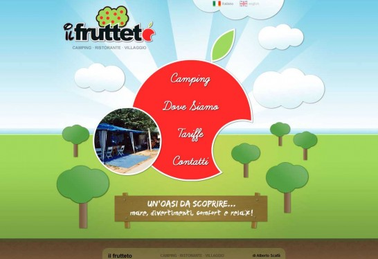 il fruetteto 546x374 Another 30 Cartoon Style Website Design for Inspirations 