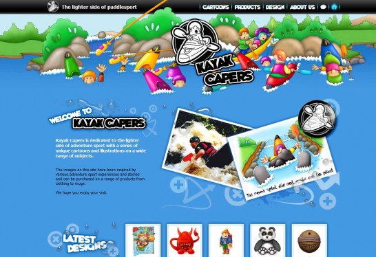 kayak capers 546x374 Weekly Inspiration and Web Design Resource no.2