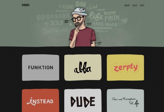 kyle steed 546x374 Weekly Inspiration and Web Design Resource no.2