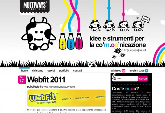 multiways 546x374 36 Cartoon Style Website Design for Inspirations