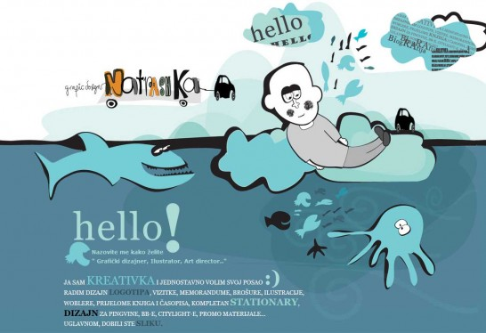 natrashka 546x374 36 Cartoon Style Website Design for Inspirations