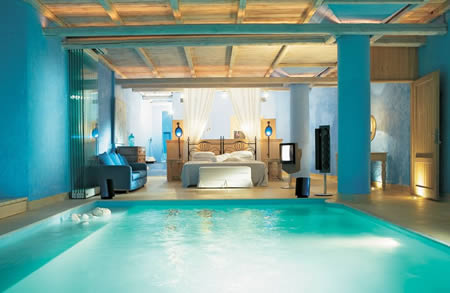 pool Extraordinary and Unusual Bed Designs Ideas