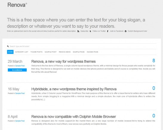 renova responsive 546x433 22 Free WordPress Themes with Responsive Layout