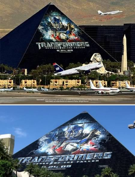 transformers 12 Worlds Largest Advertisements