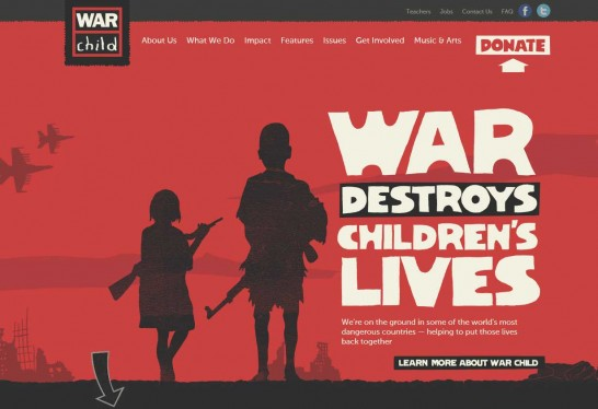 war child 546x374 Weekly Inspiration and Web Design Resource no.2