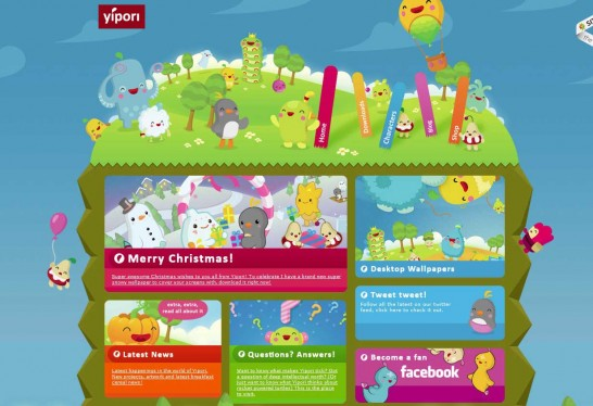 yipori 546x374 Another 30 Cartoon Style Website Design for Inspirations 