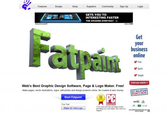 fatpaint 546x374 5 Free Photo Editing Software for Windows