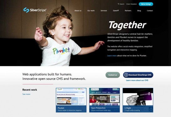 silverstripe cms 546x374 14 Free CMS Alternatives for Web Developers