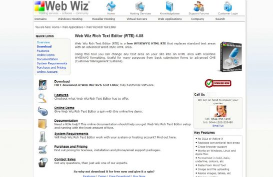 webwiz editor 546x355 8 Most Popular Rich Text Editors for Web Developers