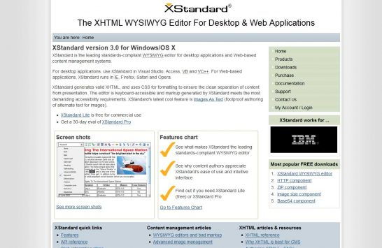 xstandard editor 546x355 8 Most Popular Rich Text Editors for Web Developers