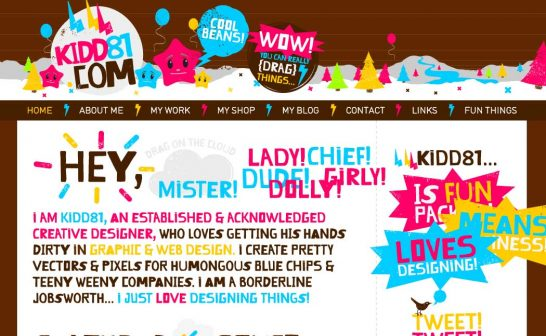 kidd81 546x336 Weekly Inspiration and Web Design Resource no.13 and 14