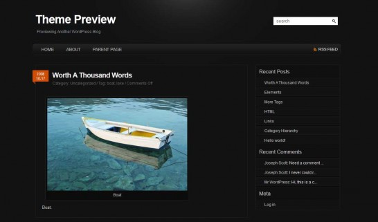 pyrmontv2 546x321 47 of the Best Dark and Black Free Wordpress Themes