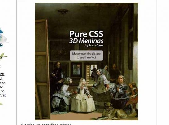 css3 3d meninas 546x403 40 Most Inspiring CSS3 Animation Tutorials and Demos