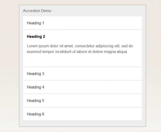 css3 accordion 546x450 40 Most Inspiring CSS3 Animation Tutorials and Demos