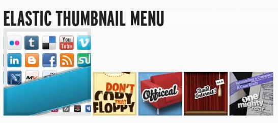 css3 elastic thumbnail menu 546x242 40 Most Inspiring CSS3 Animation Tutorials and Demos