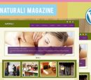 Naturali Magazine Free WordPress Theme