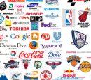 World-renowned corporate brand logo vector