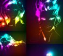 Bright light background Vector