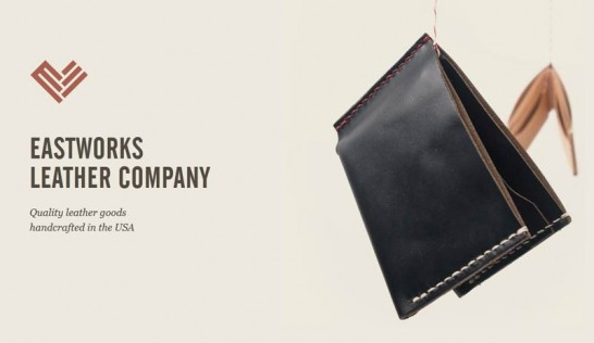 eastworks leather company 546x316 Weekly Inspiration and Web Design Resource no.27