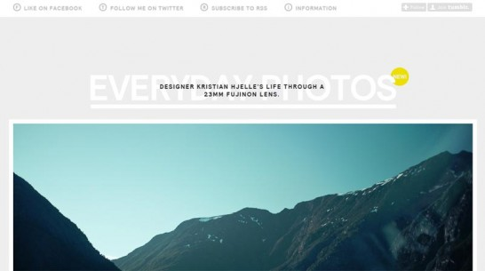 everyday photos 546x305 Weekly Inspiration and Web Design Resource no.26