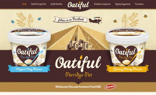 oatiful porridge pots 546x332 Weekly Inspiration and Web Design Resource no.25